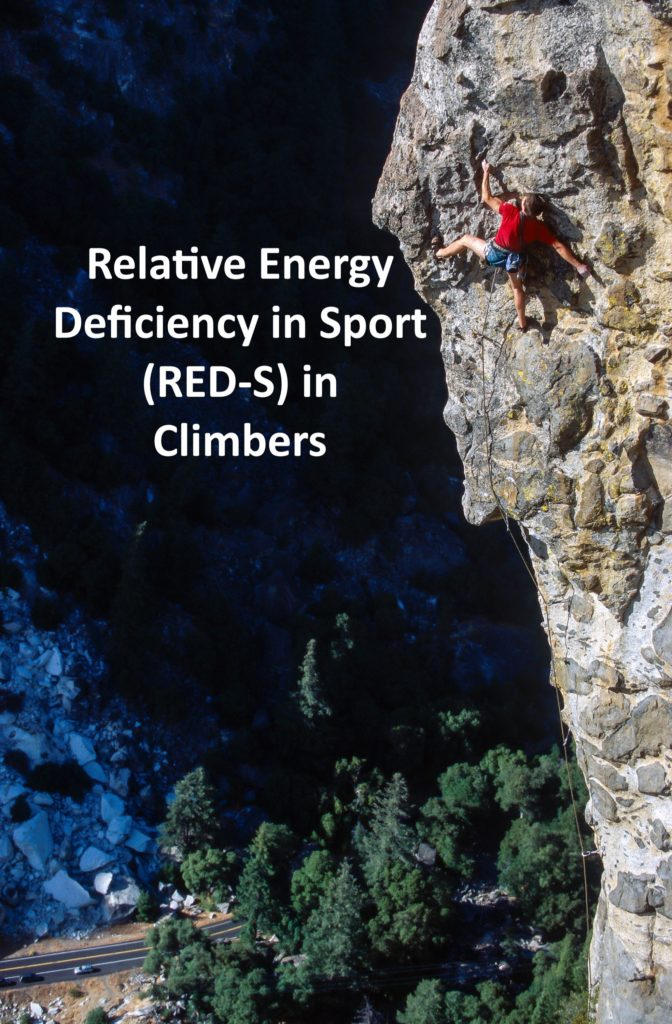 Relative Energy Deficiency in Sport (RED-S) in Climbers